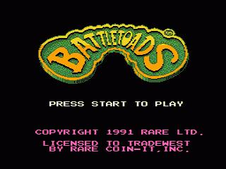 Game Title Screen